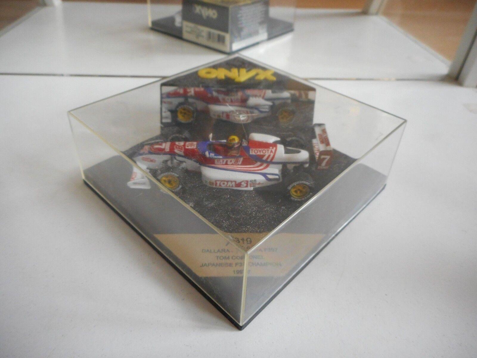 Onyx F3 Formula 3 Dallara - Toyota F397 T. Cornel Japanese F3 Champion 1997 Box