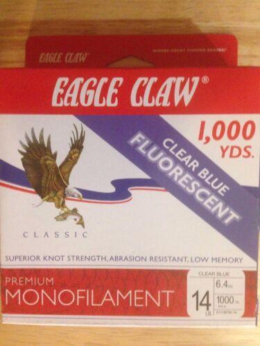 Eagle Claw 14# Premium Monofilament Line 1000 yards