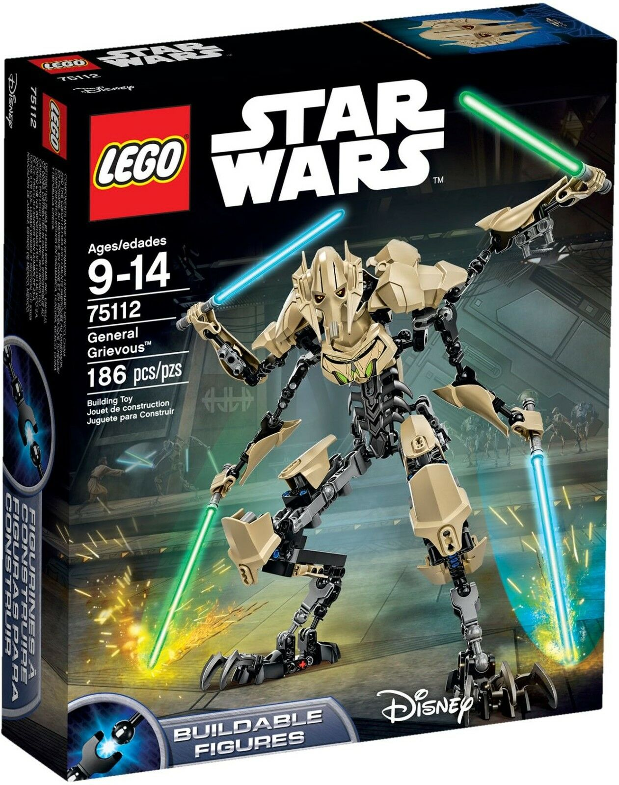 LEGO Star Wars - 75112 General Grievous - Neu & OVP