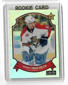 Vincent-Trocheck-Florida-Panthers-2014-15-O-Pee-Chee-Platinum-Refractor-auto-RC