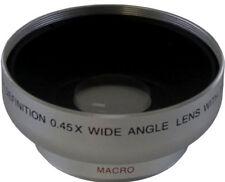 Wide Angle HD Lens 0.43x 43mm for Canon HFM52 HFM50 HFM500 HFM40 HFM41 M52 M500