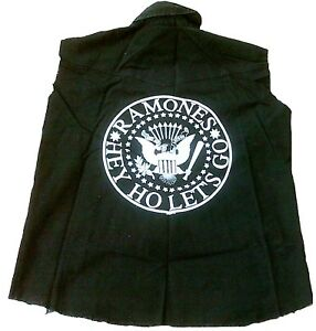 RARE-Bravado-Official-Ramones-Merchandise-Hey-Ho-Let-039-s-Go-Military-Blouson-Veste-L