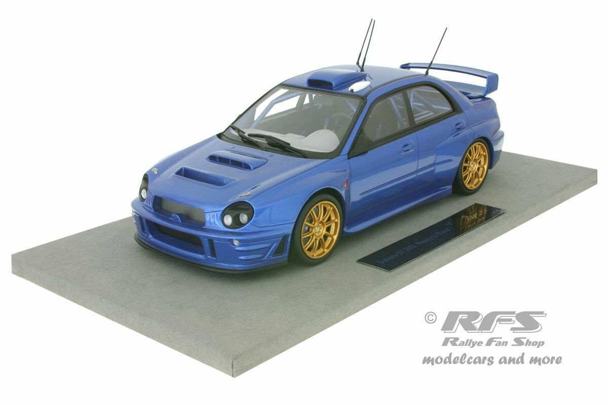SUBARU Impreza s7 WRC RALLY READY TO RACE VERSION Solberg - 1:18 Top Marques
