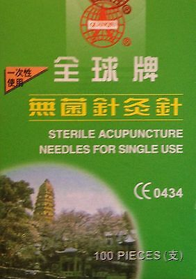 Natural & Alternative Remedies Acupuncture Health 0.25mm X 40mm Individual Tube Quality From £3.10/box Of100 Ce Acupuncture
