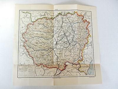Alba Cartina Geografica.Stampa Antica Mappa Cuneo Saluzzo Racconigi Alba Canale Mondovi Cherasco 1931 Ebay