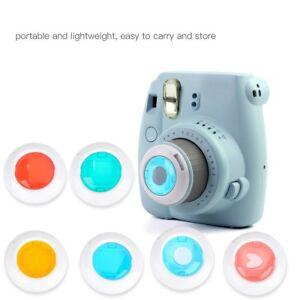 For-Fujifilm-Instax-Mini-7s-8-8-9-Film-Camera-6-Filters-Close-Up-Pure-Gradient