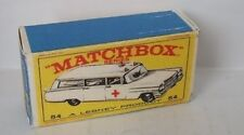 Repro Box Matchbox 1:75 Nr.54 Cadillac Ambulance