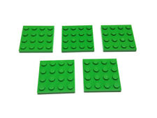 5 x Lego 3031 Platte 4x4 grün green brandneu 4113158 4243821