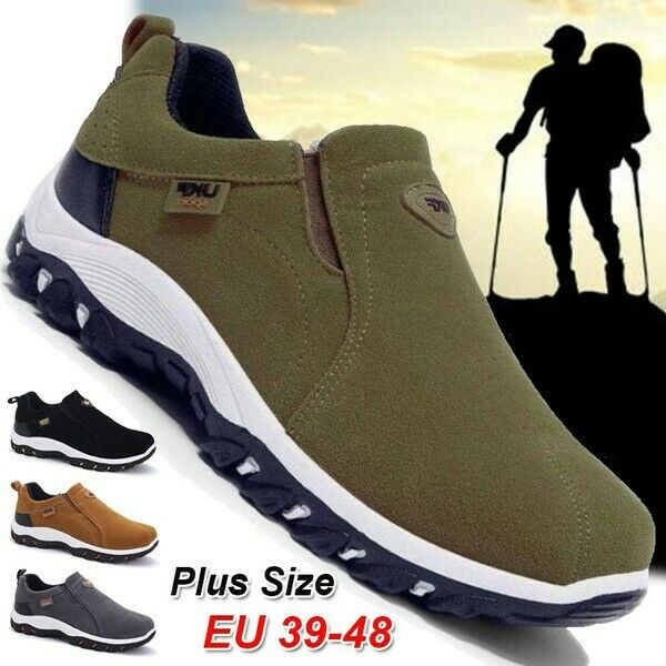 Men's Casual Sneakers Outdoor Sports Hiking Walking Gym Athletic Shoes Comfort