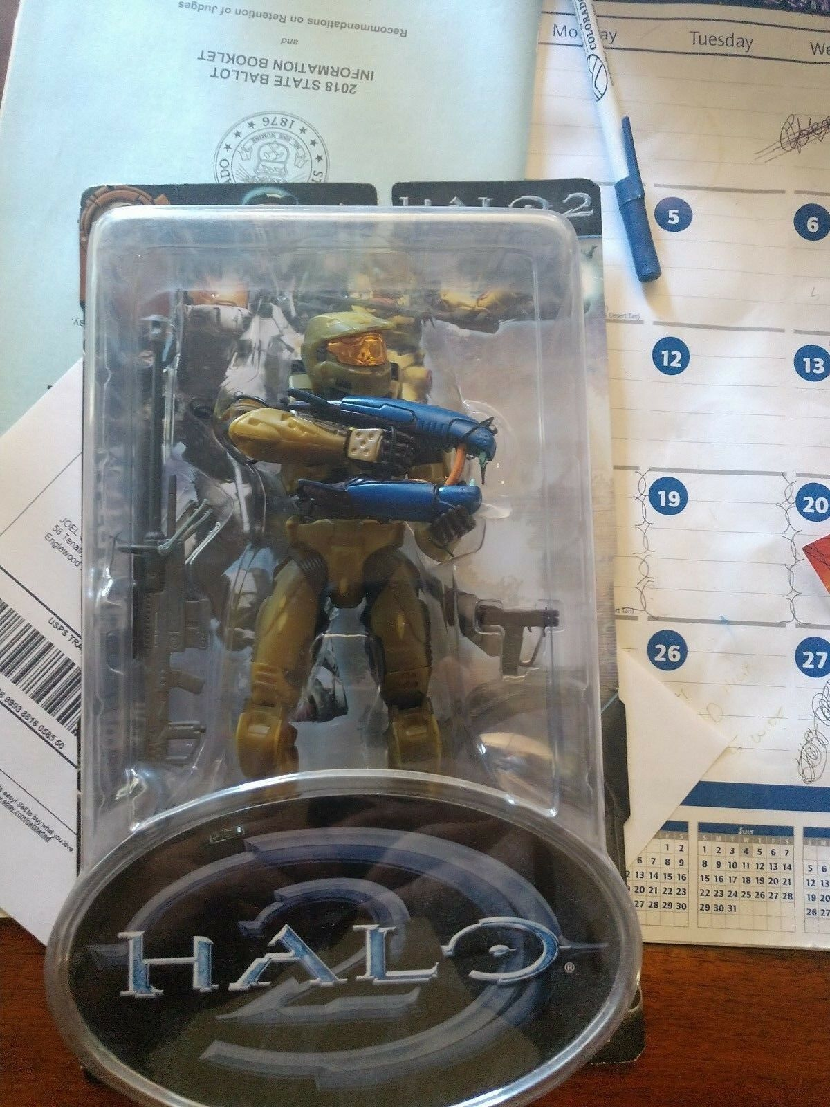 Halo 3 12 - zoll - spartanischen soldaten - nib limited edition
