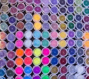 Halo-de-cosmeticos-ollas-Glitter-Sirena-Jabon-Bombas-de-Bano-Arte-en-Unas-festivales-de-pintura-de