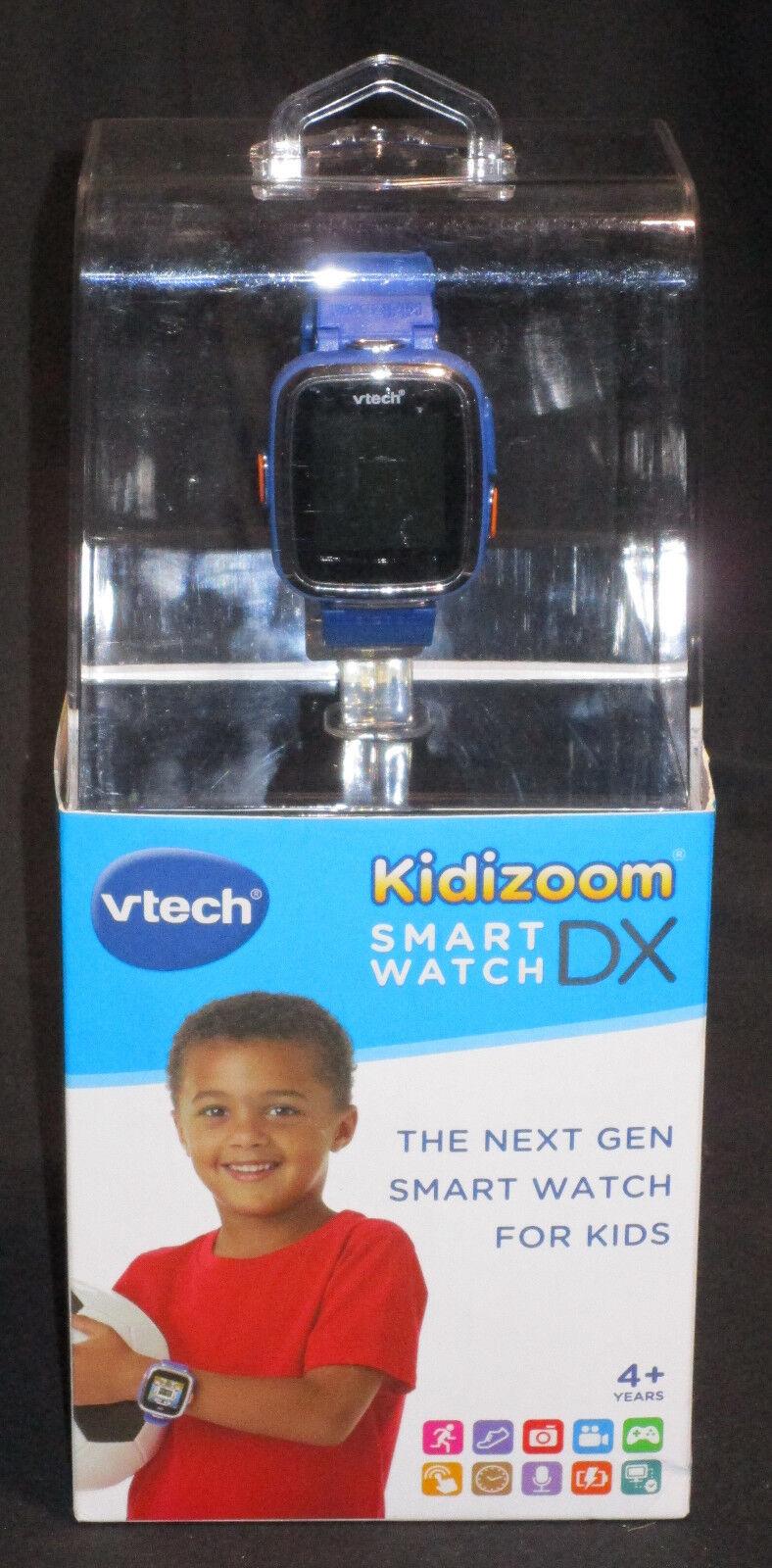 VTech 171603 Kidizoom DX Smart Watch / Armbanduhr für Kinder, Blau ENGLSICH