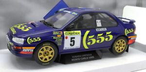 Échelle de 1/18 solide S1800802 Subaru Impreza Wrc Rallye de Monte Carlo 1995 3663506004285