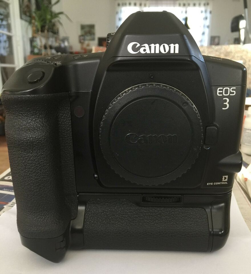 Canon, Canon SLR EOS-3 SPEJLREFLEX, spejlrefleks