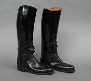 819123310da Details about Men's Motorcycle Highway Police Patrol Leather Biker Tall  Riding Boot UK 5-12