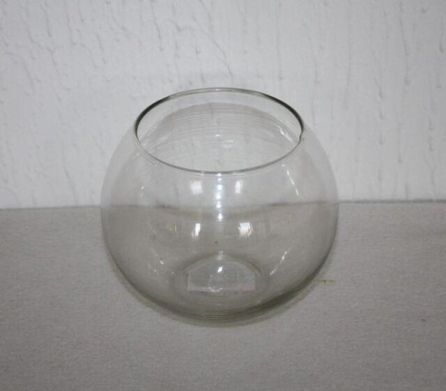 Bubble Ball Fish Bowl Glass Vase Round Clear Wedding Table