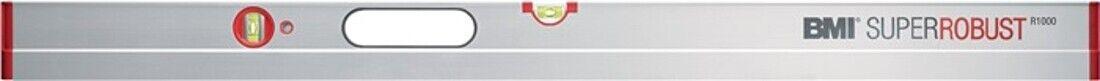 BMI Wasserwaage SUPERROBUST R 1000 L.200cm Alu. 4Kammerprofil Waage Messen