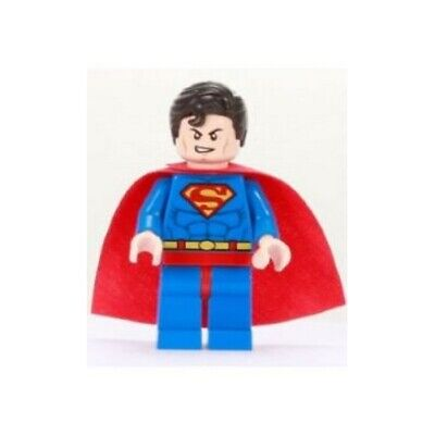 SUPERMAN w// CAPE MINI FIGURE SUPERMAN LEGO 6862