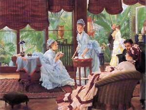 JAMES-TISSOT-UNRIVALED-OLD-MASTER-ART-PAINTING-PRINT-POSTER-REPRODUCTION-1508OMB
