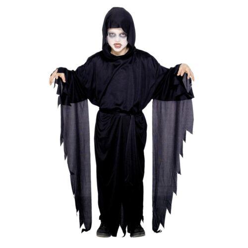 Kids Boys Scary Screamer Grim Reaper Phantom Ghoul Ghost Halloween Costume Harry