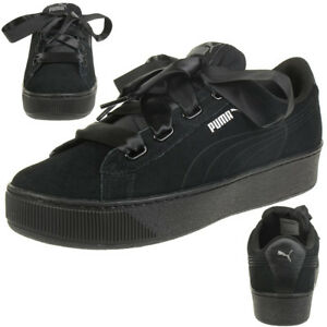 Puma Damen Sneaker Vikky Platform Ribbon S 366418-01 38