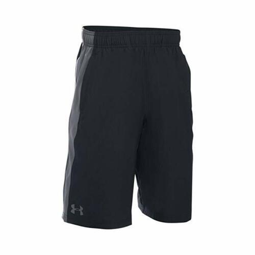 1291595 Black//Grey Under Armour Boys Impulse Short