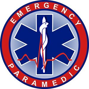Emergency-Paramedic-Medical-Decal-Bumper-Sticker