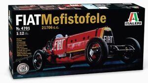 Italeri 1/12 Fiat Mefistofele 21706 C. # 4701