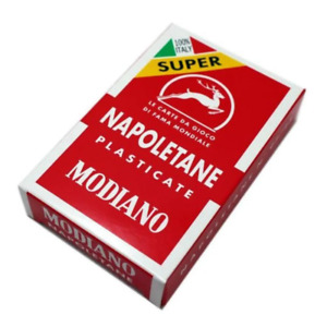 Modiano Napoletane Plastic Coated Playing Cards Assortment NEW