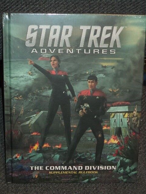 Star Trek Adventures The Command Division Roleplaying Game RPG Book New