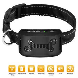Collar-de-Adiestramiento-Perro-Sonido-Vibracion-Antiladridos-Canino-Pet-Trainer