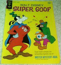 Walt Disney's Super Goof 15, (FN 6.0) 1970, 40% off Guide!