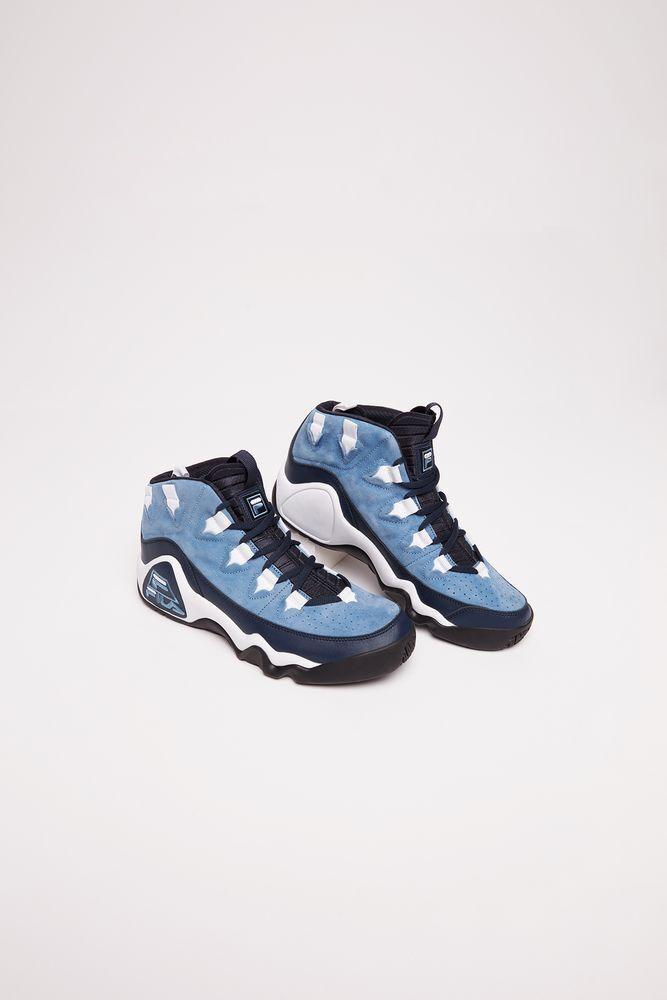 FILA Men's 95 Slip Ink bluee Sky bluee White