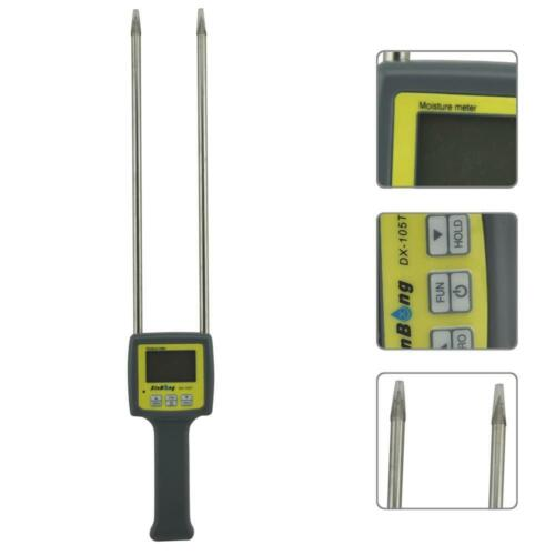 DX 105T 4 Digital Professional tabac Moisture Meter Humidité