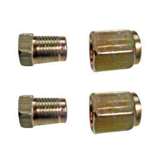 Braking Connectors Unions M10 + Female 5 10 x 3//16 Brake Pipe Nuts Male 5