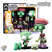 Invader Zim Palisades Toys Exclusive Figure Hot Topic Germ Fighting Gir 2005
