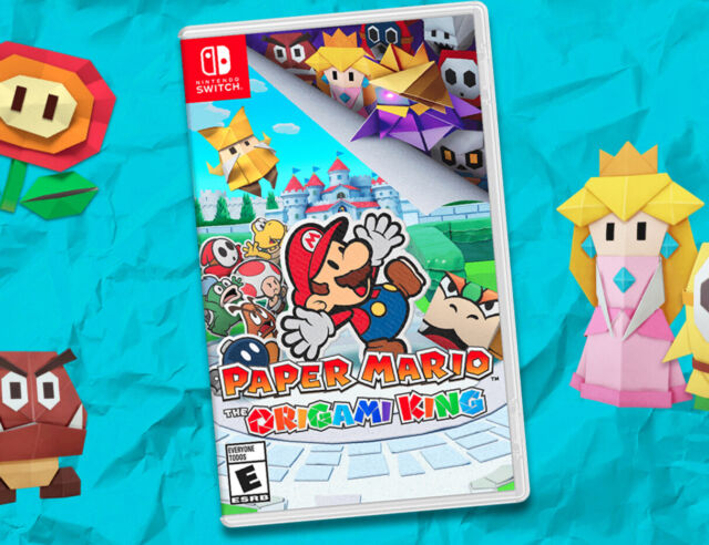 *BRAND NEW* Paper Mario: The Origami King -- Standard Edition