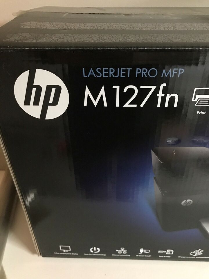 Laserprinter, multifunktion, HP
