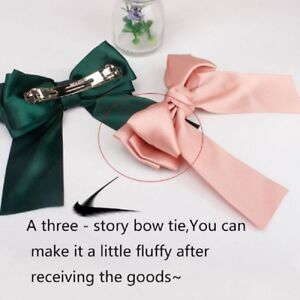 Women-Bowknot-Cute-Hair-Ties-Bow-Clip-Hair-Band-Women-Girls-Hair-Accessories-1Pc