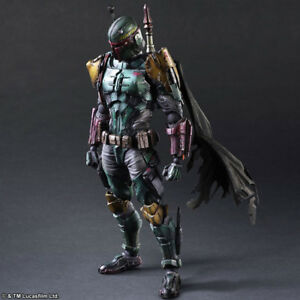 NEW-Star-Wars-Boba-Fett-SquareEnix-VARIANT-Play-Arts-Kai-REPLICA-Figure-Model