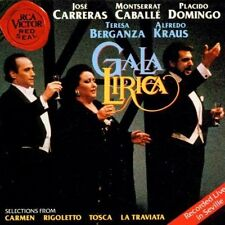 Gala Lirica-Live in Seville (RCA Victor Red Seal, 1991) Placido Domingo, .. [CD]