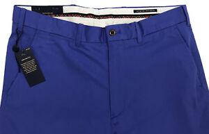 Men s POLO GOLF RALPH LAUREN Blue Twill Pants Tagged 38x32 NEW NWT ... 3e60ae210fa