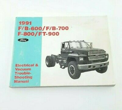 1991 Ford F600 F700 F800 FT900 Truck Electrical Wiring ...