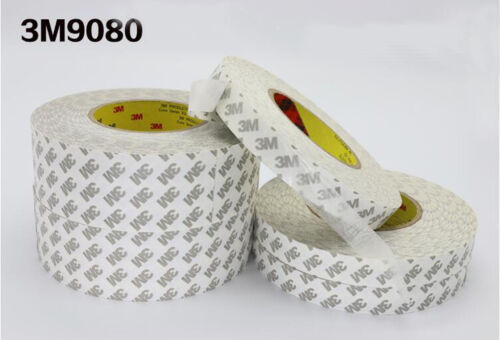 50m //164ft 3M 9080 Double Sided Adhesive Tape 12mm Wide Mobile Tablet Computer