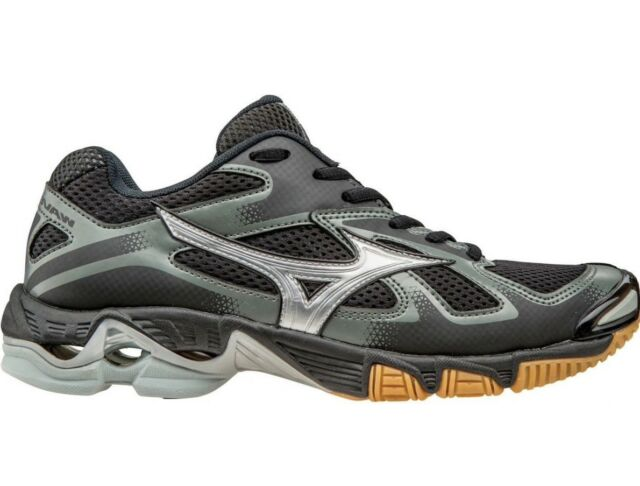 27e1abf2d09 Womens Mizuno Wave Wave Bolt 5 Volleyball Shoes Size 6.5 Black Grey  430204.9073