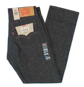 NEW-MEN-039-S-LEVIS-ORIGINAL-STF-SHRINK-TO-FIT-JEANS-BLACK-ALL-SIZES-005010226