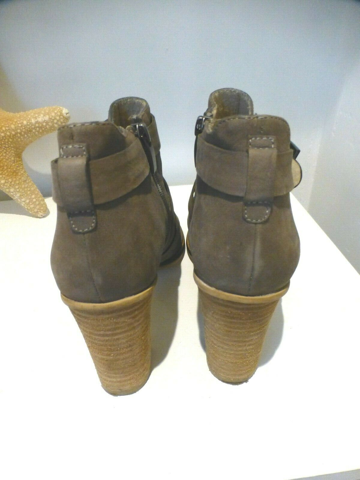 Mint Velvet Taupe open open open toe ankle Stiefel Excellent condition Größe 6  39 worn once 642da5