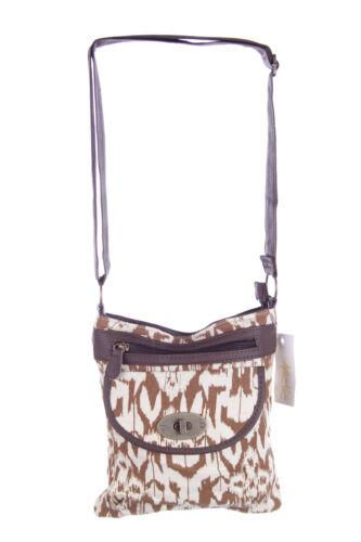 Canvas Satchel Bag New Ladies Handbag HB2440 BNWT Aztec Animal Print Womens