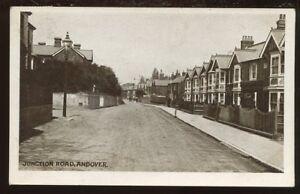 Hants ANDOVER Junction Rd 1915 PPC