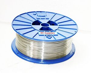 5 lb Spool of 25 Gauge Galvanized Round Stitching Wire, For Bostitch, Acme, Mull